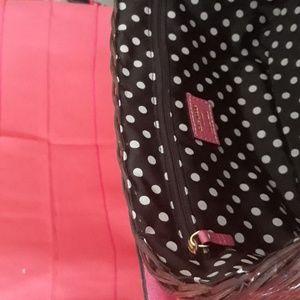 kate spade Bags - Kate spade pink wicker basket purse